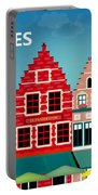 Bruges Belgium Horizontal Scene Portable Battery Charger
