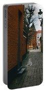 Bruges Orange Street Portable Battery Charger