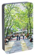 Bryant Park Nyc Portable Battery Charger