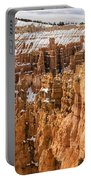 Bryce Canyon Winter Panorama - Bryce Canyon National Park - Utah Portable Battery Charger