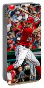 Bryce Harper Washington Nationals Portable Battery Charger