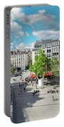 Georges Pompidou Square Portable Battery Charger