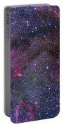 Bubble Nebula And Cave Nebula Mosaic Portable Battery Charger