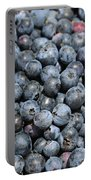 Bucket Of Blueberries Portable Battery Charger