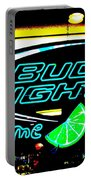 Bud Light Lime Tweeked Portable Battery Charger