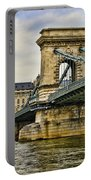 Budapest - Chain Bridge Portable Battery Charger