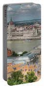 Budapest Overview Portable Battery Charger