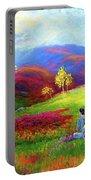 Buddha Chakra Rainbow Meditation Portable Battery Charger