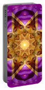 Buddha Mandala Portable Battery Charger
