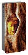 Buddha Of The Banyan Tree Portable Battery Charger