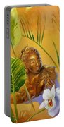 Buddha Sculp Portable Battery Charger