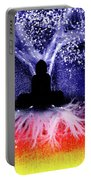 Buddha Under The Wisdom Tree Portable Battery Charger