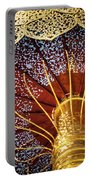 Buddhas Path To Enlightenment, Golden Umbrella Portable Battery Charger
