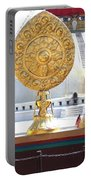 Buddhist Dharma Wheel Portable Battery Charger