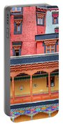 Buddhist Monastery Building Portable Battery Charger