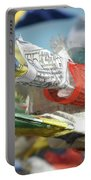 Buddhist Prayer Flags Portable Battery Charger