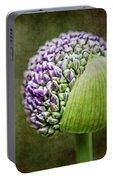 Budding Allium Portable Battery Charger