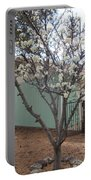 Budding Fruit Tree Portable Battery Charger