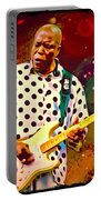 Buddy Guy Portrait Portable Battery Charger