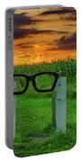 Buddy Holly Glasses Portable Battery Charger