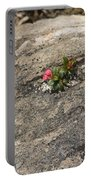 Buds Of Beauty Within Harshness Portable Battery Charger