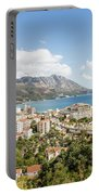 Budva Along The Adriatic Sea In Montenegro Portable Battery Charger