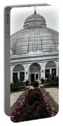 Buffalo And Erie County Botanical Gardens Ink Sketch Effect Portable Battery Charger