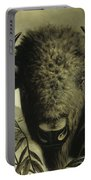 Buffalo Head Portable Battery Charger