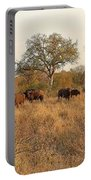 Buffalo In The Timbavati Portable Battery Charger