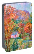 Buffalo Mountain In Fall Portable Battery Charger