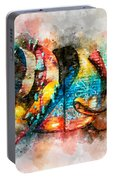 Bug Watercolor Portable Battery Charger