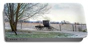 Buggy Alone In Winter Portable Battery Charger