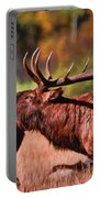 Bugling Elk In Autumn Portable Battery Charger