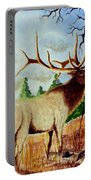 Bugling Elk Portable Battery Charger