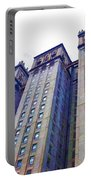 Building Closeup In Manhattan 14 Portable Battery Charger