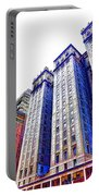 Building Closeup In Manhattan 15 Portable Battery Charger