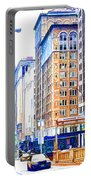 Building Closeup In Manhattan 18 Portable Battery Charger