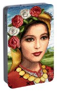 Bulgarian Beauty Portable Battery Charger