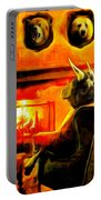 Bull At Night Portable Battery Charger