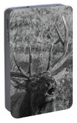 Bull Elk Bugling Portable Battery Charger