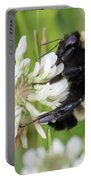 Bumble Bee By The Pond Portable Battery Charger