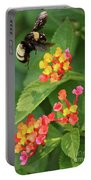 Bumble Bee In Flight Portable Battery Charger