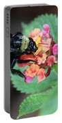 Bumble Bee Square Portable Battery Charger