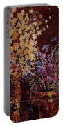 Bunch Of Dried Flowers  Portable Battery Charger