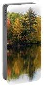 Bunganut Lake Maine Foliage 10 2016 Portable Battery Charger