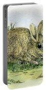 Bunnies Portable Battery Charger
