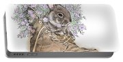 Bunny In Boot Portable Battery Charger