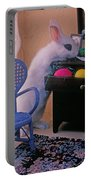 Bunny In Small Room Portable Battery Charger