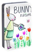 Bunny Nature Portable Battery Charger