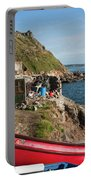 Bunty In Priest's Cove Cape Cornwall Portable Battery Charger